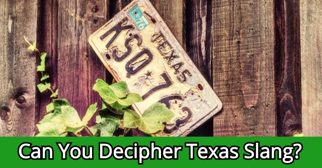 Can You Decipher Texas Slang?