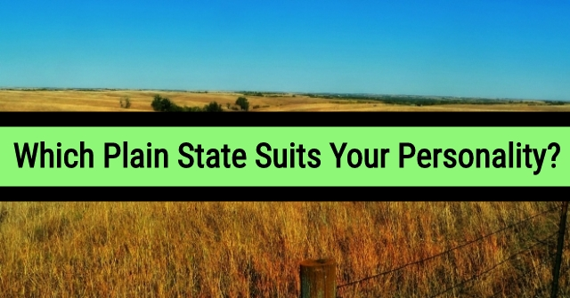 Which Plain State Suits Your Personality?