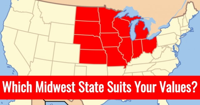Which Midwest State Suits Your Values?