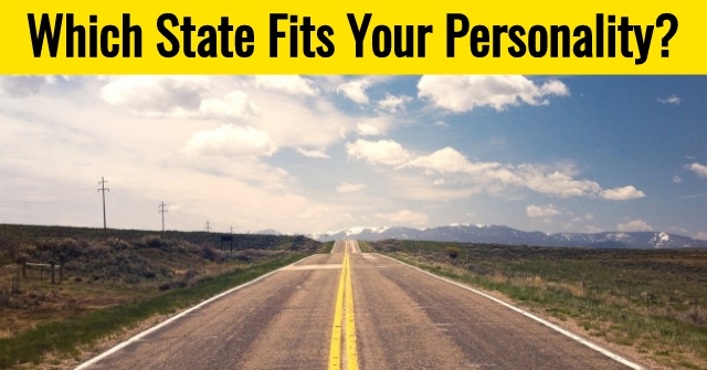 Which State Fits Your Personality?