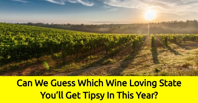 Can We Guess Which Wine Loving State You'll Get Tipsy In This Year?