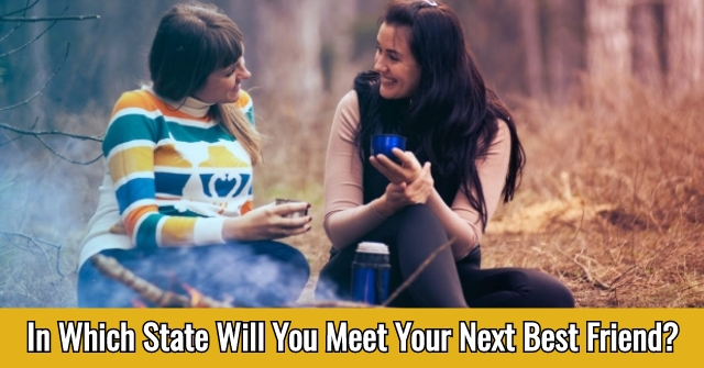 In Which State Will You Meet Your Next Best Friend?