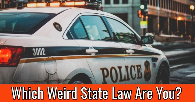 Which Weird State Law Are You?