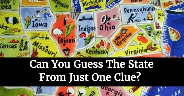 Can You Guess The State From Just One Clue?