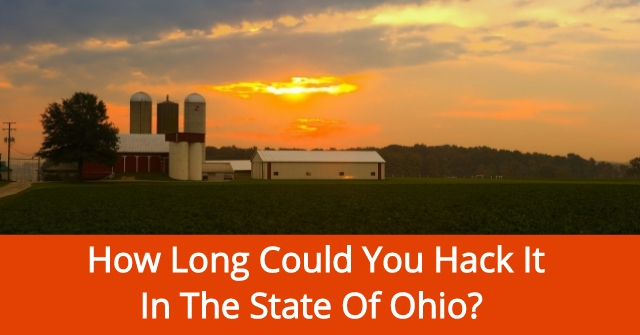 How Long Could You Hack It In The State Of Ohio?