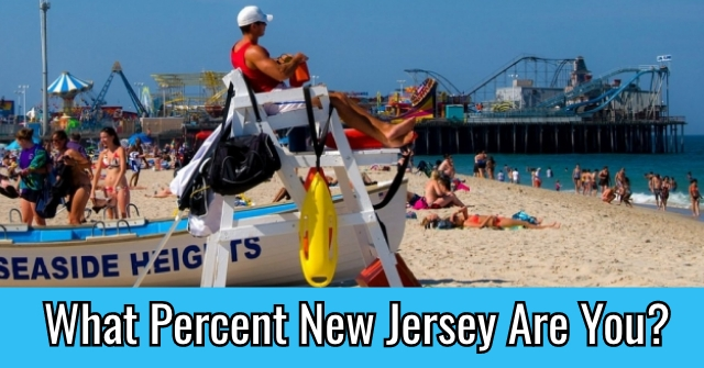 What Percent New Jersey Are You?