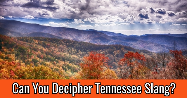 Can You Decipher Tennessee Slang?