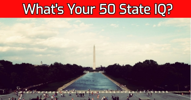 What's Your 50 State IQ?