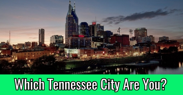 Which Tennessee City Are You?