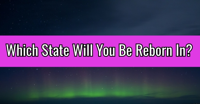 Which State Will You Be Reborn In?