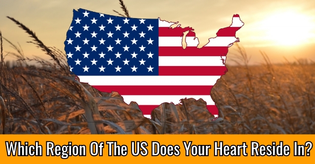 Which Region Of The US Does Your Heart Reside In?