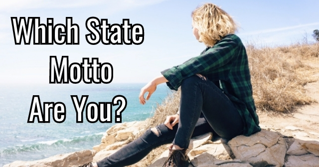 Which State Motto Are You?