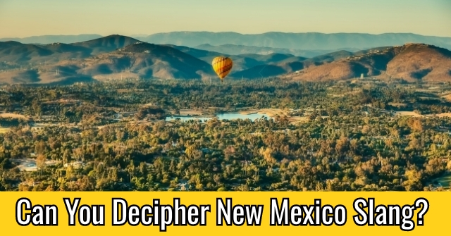 Can You Decipher New Mexico Slang?