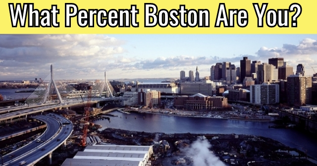 What Percent Boston Are You?