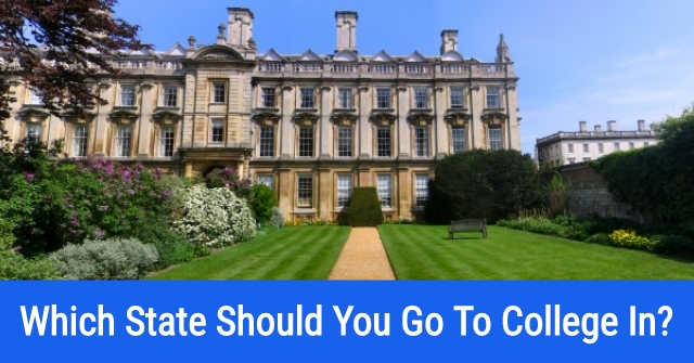 Which State Should You Go To College In?