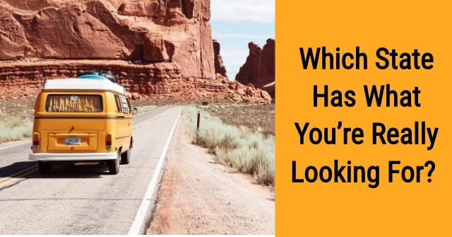 Which State Has What You're Really Looking for?