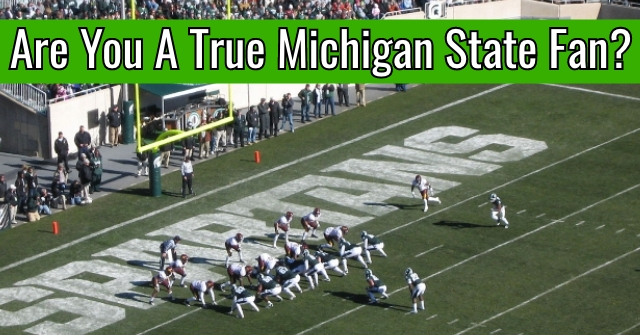 Are You A True Michigan State Fan?