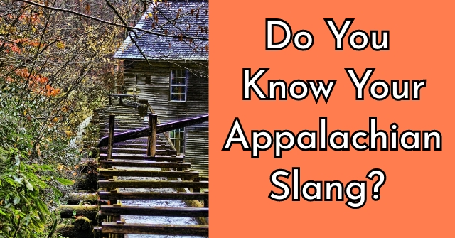 Do You Know Your Appalachian Slang?