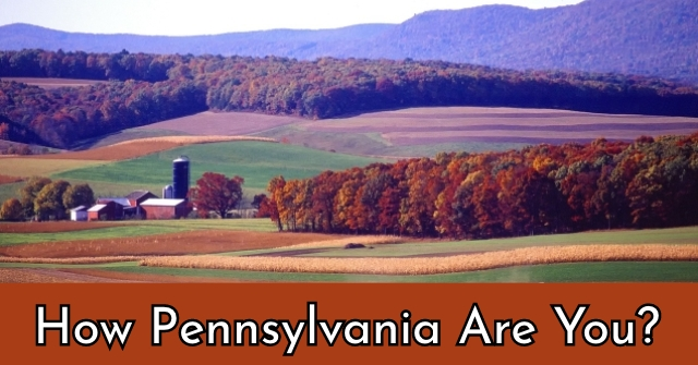 How Pennsylvania Are You?