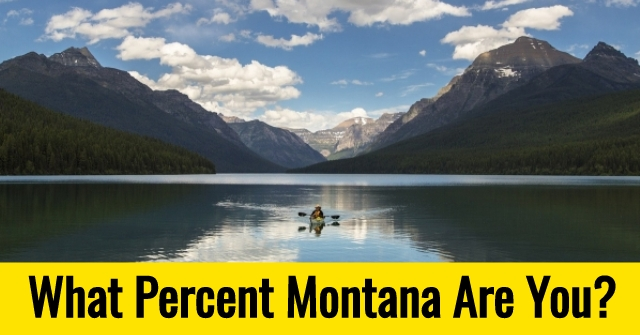 What Percent Montana Are You?