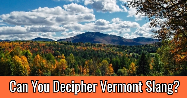 Can You Decipher Vermont Slang?