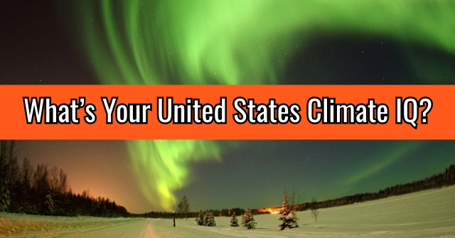 What's Your United States Climate IQ?