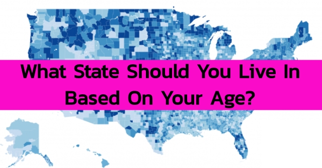 What State Should You Live In Based On Your Age?
