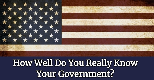 How Well Do You Really Know Your Government?