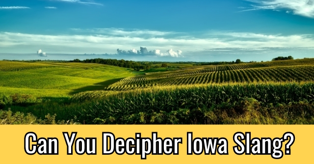 Can You Decipher Iowa Slang?