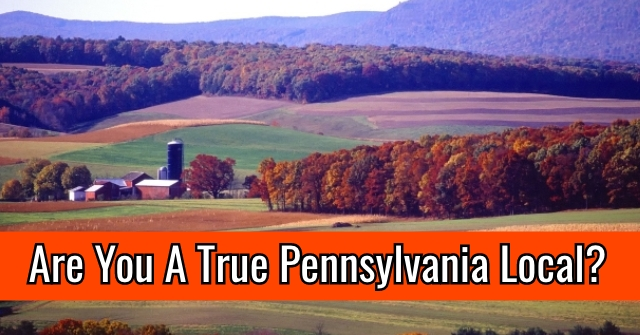 Are You A True Pennsylvania Local?