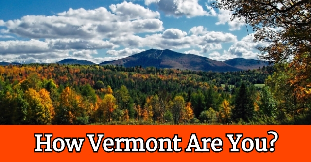 How Vermont Are You?