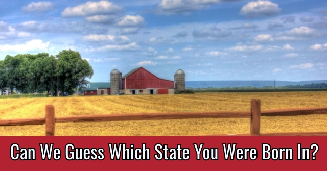 Can We Guess Which State You Were Born In?
