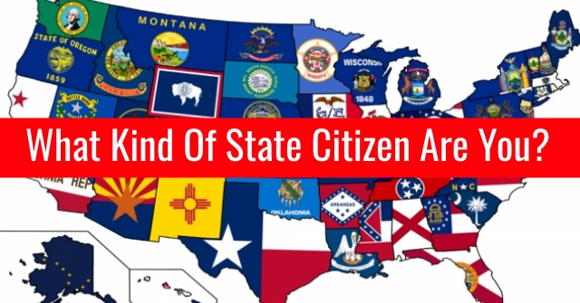 What Kind Of State Citizen Are You?