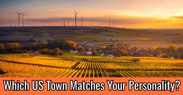 Which US Town Matches Your Personality?
