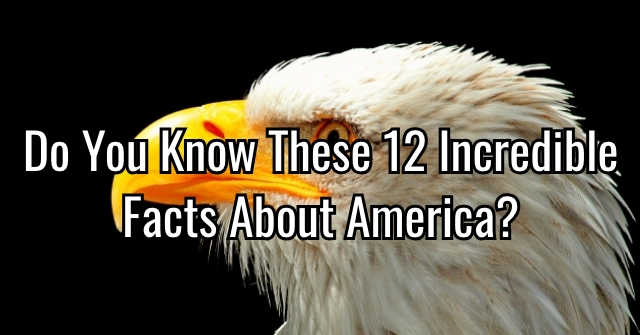 Do You Know These 12 Incredible Facts About America?