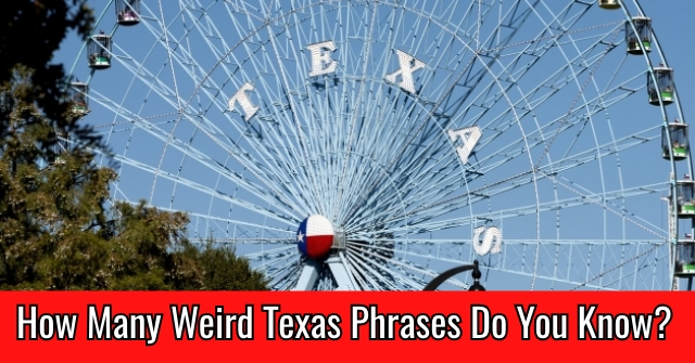 How Many Weird Texas Phrases Do You Know?