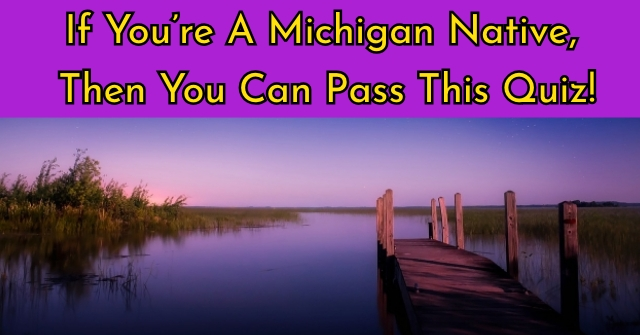 If You're A Michigan Native, then You Can Pass This Quiz!